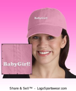 Ladies Garment-Dyed Cap Design Zoom